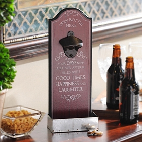 Good Times Bottle Opener Plaque