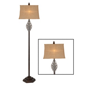 Medallion Floor Lamp