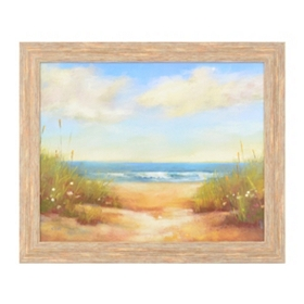 To the Beach Framed Art Print