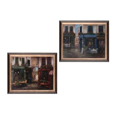 Italian Street Scene Framed Art Prints