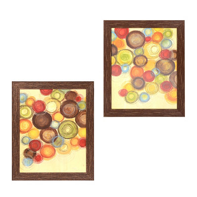 Wednesday Whimsy Small Framed Art Prints