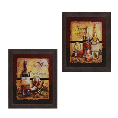 Wine Table Framed Art Prints