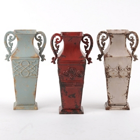 Amphora Decorative Metal Vase