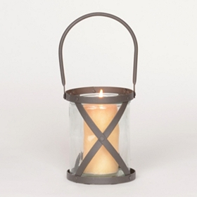 Maastricht Bronze Lattice Lantern, 7.25 in.