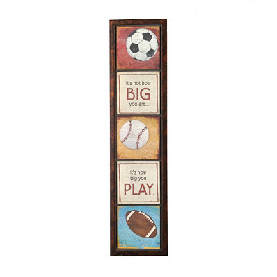 Play Ball Wall Panel