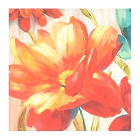 Blooming Floral Canvas Art Print