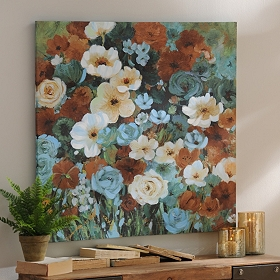 Posy Perfection Canvas Art Print