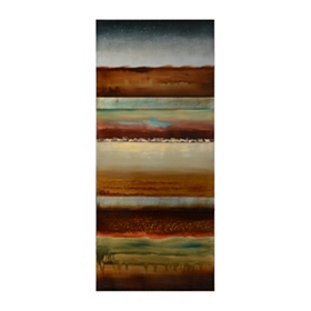 Horizontal Layers Canvas Art Print