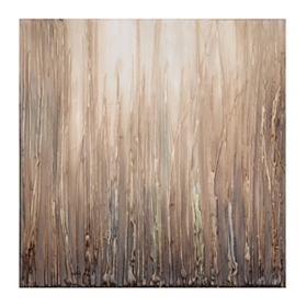 Abstract Grass Canvas Art Print