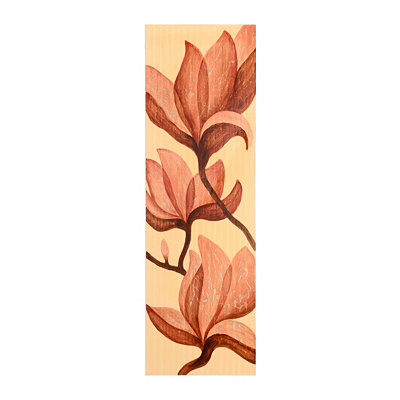 Orange Blooms Canvas Art Print