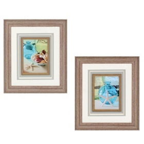 Coastal Seaglass Framed Art Prints