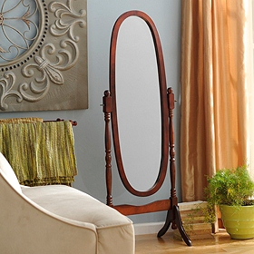 Cherry Cheval Mirror, 23x60