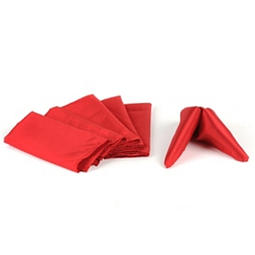 Red Glitz Napkins