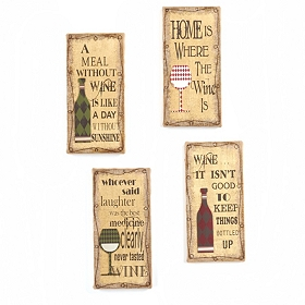 Sassy Wine Wall Plaques