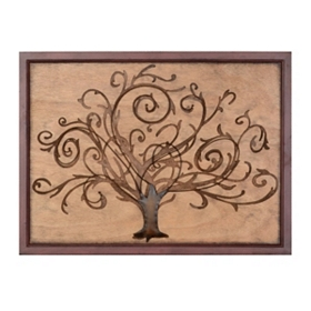 Wondrous Willow Tree Wall Plaque