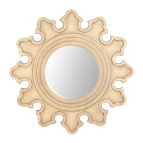 Accolade Round Mirror, 30 in.
