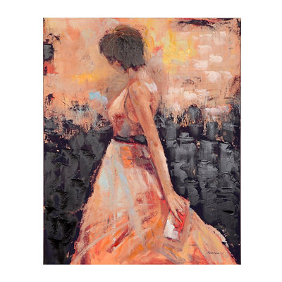 Moment in the Spotlight Canvas Art Print