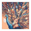 Royal Peacock Canvas Art Print