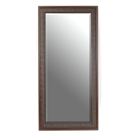 Brown Woven Framed Mirror, 24x58