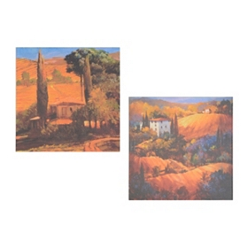 Tuscan Landscape Canvas Art Print