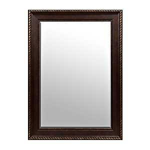 Bronze Matte Framed Mirror, 32x44