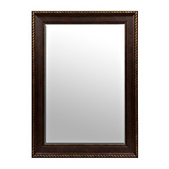 Bronze Matte Framed Mirror, 32x44