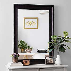 Bronze Rope Framed Wall Mirror, 32x44 in.
