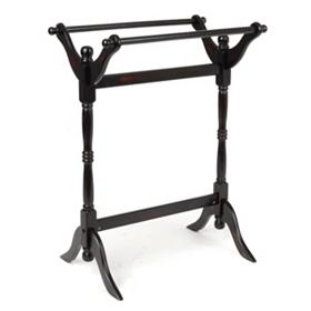 Black Quilt Rack