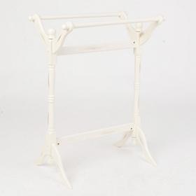 White Quilt Rack