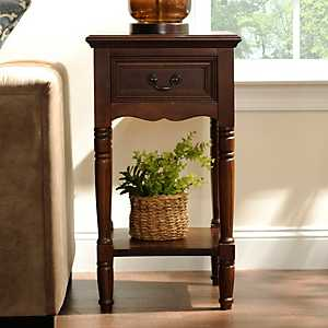 Christine Brown Side Table