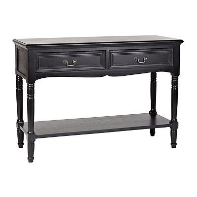 Christine Black Console Table