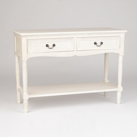 Christine Ivory Console Table