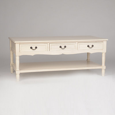 Christine Ivory Coffee Table