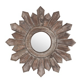 Poconos Wooden Wall Mirror