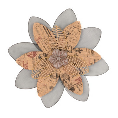 Wallflower Wall Plaque