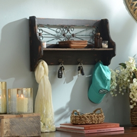 Gable Wall Shelf