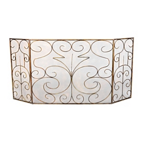 Alumineer Fireplace Screen