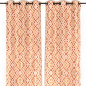 Marrakech Spice Curtain Panel Set, 96 in.