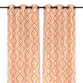 Marrakech Spice Curtain Panel Set, 84 in.