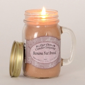 Banana Nut Bread Mason Jar Candle