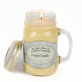 French Vanilla Mason Jar Candle