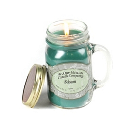 Balsam Mason Jar Candle