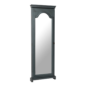 Slate Blue Armoire Mirror