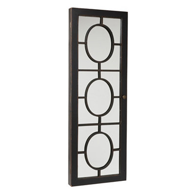 Bronze Panel Armoire Mirror