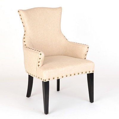 Amsterdam Ivory Arm Chair