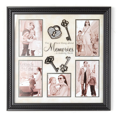 Lock & Key Collage Frame