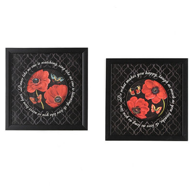 Poppy Advice Framed Art