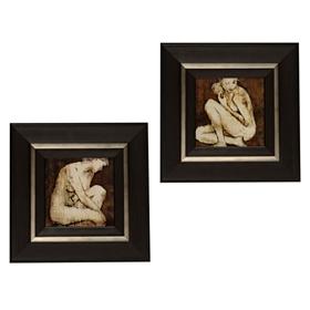 Poise & Grace Framed Art Print