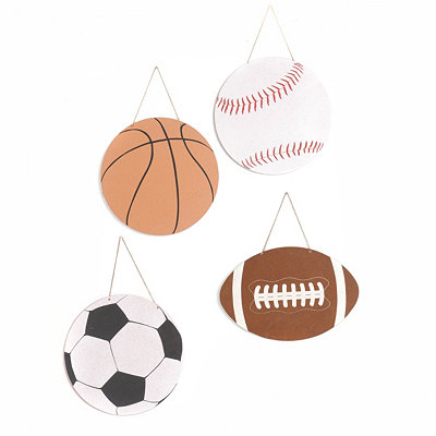 Sports Ball Wall Plaque