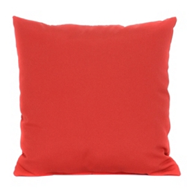 Red Outdoor Accent Pillow, 18 in.